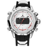 WEIDE 6406 Silver Case Luminoso Dual Display Orologio digitale