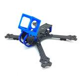 Cobra HX6 HX6D 6 hüvelykes 262 mm-es 4 mm-es kar 3K szénszálas vázkészlet kameratartóval a Gopro Session 4 számára