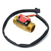 フル銅水流センサー1.75Mpa G1/2パルスホール流量計スイッチ1-25L /分