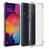 Bakeey Air Cushion Narożnik Przezroczysty TPU Odporny na wstrząsy futerał ochronny do Samsung Galaxy A50 2019