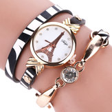 DUOYA DY008 Gold Case Ladies Bracelet Watch
