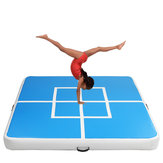 78.74x78.74x5.9inch Gym gonflable Air Track Gymnastique Tapis Tumbling Formation Exercice Pratique Airtrack Pad