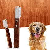 Kisállat-fésű terrier kutyakés kutya Speciális szépségápolási eszközök Kisállat-kellékek Borotválkozókés fésű házi kedvenc ápolásához