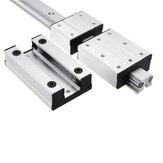 Machifit LGD12-500-1000L Linear Guide Aluminum Alloy External Dual-axis LGB12-60L 2UU Block For CNC Machine