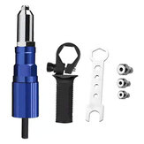 Drillpro Upgrade Electric Rivet Nut Attachment Cordless Riveting Drill Adapter Riveting Tool