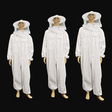 Beekeeping Protective Equipment Jacket Veil Full Body Suit Hat Smock Beekeeping Tools Set