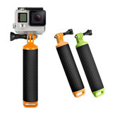 SHOOT XTGP279 Anti-slip Floating Bobber Stick Floaty Handheld Monopod Pole Hand Grip for Gopro Hero 6 5 4 3+ 3 2 SJCAM Xiaomi Yi Action Cameras