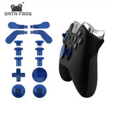 14 pcs Metal Replacement Thumbsticks Joystick Caps Paddle Dpad for XBOX ONE Elite Gamepad