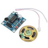 10pcs ISD1820 3-5V Sprachmodul Aufnahme- und Wiedergabemodul Regelkreis / Jog / Single Play Geekcreit für Arduino - Produkte, die mit offiziellen Arduino-Karten funktionieren