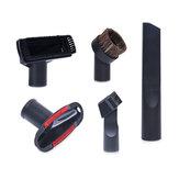 Borstelkop Sucker Set Platte Nozzle Zuig T-borstel 2 in 1 Platte Zuignap Borstel Huishoudelijke Stofzuiger Accessoires Diameter 32mm