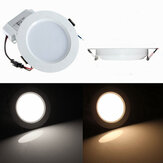 Non-dimmable 5W Round LED Recessed Ceiling Panel Down Light With Driver 85-265V
