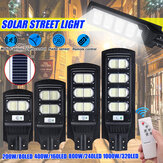 Lampe murale d'extérieur à capteur de mouvement infrarouge pour réverbère à énergie solaire 80/160/240/320 LED