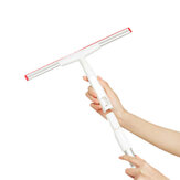 iCLEAN YB-03 Handheld Retractable Window Cleaning Brush Household Clean Scrapers Lengthened Aluminum Tube TPR Soft Rubber Strip