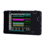 LA104 Digital Logics Analyzer 2.8 inch Screen 4 Channels Oscilloscope SPI IIC UART Programmable 100MHz Max Sampling Rate