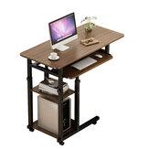 4 kat dizüstü bilgisayar masası masa ayarlanabilir taşınabilir dizüstü bilgisayar masası arabası çekyat tepsi yazma çalışma masası ev ofis için