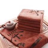 Superfine Fibre Tea Towel Super Water Absorption Tea Towel Kungfu Tea Accessaries