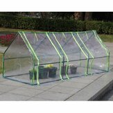 Waterproof Mini Plant Greenhouse Winter Shelter Garden Cover Tahan Korosi Untuk Taman Luar Ruangan