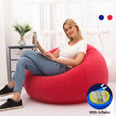 Large Pouf Lazy Sofas Lounger Couch Living Room Furniture Beanbag Tatami