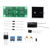 Rectifier Filter Power PCB Board Kit Single Power Rectifier Filter Board Circuit Board 5V Full Set of Parts