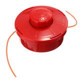 Nylon Tête de coupe générale Tête de coupe avec corde rouge taillée en 2.4mm pour tondeuse à gazon