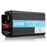 4000W 12V/24V DC to 110V/220V AC Solar Power Inverter LED Modified Sine Wave Converter Black