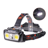 XANES® LED HeadLamp Waterproof Outdoor Running campeggio Cycling 18650 Bicicletta da bicicletta