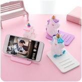 Evrensel Unicorn Akıllı Telefon iPhone Samsung Için Masaüstü Telefon Tutucu Huawei Xiaomi LG Vivo Oppo