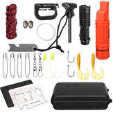 Trousse à outils pour équipement de survie en plein air SOS Emergency Survival Equipment