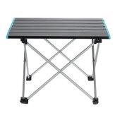 Yuntu ZD01 Przenośny składany aluminiowy stół Lekki piknik kempingowy z torbą na zewnątrz-S / M / L