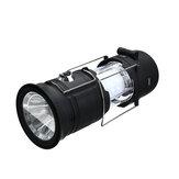 DIGOO DG-BPSL 4 In 1 Multifunction Solar Powered Camping Lamp Bluetooth Speaker 360° LED Lantern Lighting Portable Flashlight Power Bank