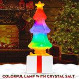 Colorful Christmas LED Night Light Tree Table Lamp Christmas Decor Kids Gift