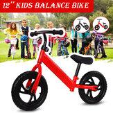 Bicicleta de equilibrio para niños de 12 pulgadas sin pedal para niños de 2 a 6 años de dos ruedas