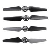 4Pcs Eachine EX4 RC Drone Cuadricóptero Repuestos Quick Release Plegable Propeller Props Cuchillas Set
