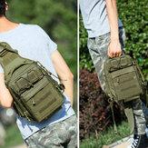 Hommes Nylon Camouflage grande capacité multi-transport tactique voyage extérieur sac de poitrine sac à bandoulière