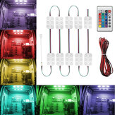 DC12V LED Van Ceiling Interior Module Strip Light Kit Waterproof Home Motorcycle Car Christmas Decoration