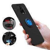 Suporte de anel magnético giratório Bakeey 360º Soft Silicone Proteção à prova de choque Caso para Xiaomi Redmi Note 9S / Redmi Note 9 Pro / Redmi Note 9 Pro Max Não original