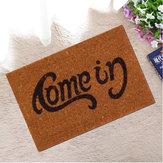 Welcome-Go Away Doormat Carpet Fashion Funny Indoor/Outdoor Rubber Floor Mat Non Slip Rug