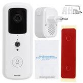 Wireless Video Doorbell Smart Phone Door Ring Intercom Camera Security Bell EU Plug Video Doorbell