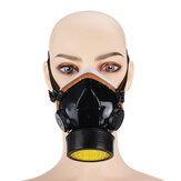Gas Mask Active Carbon Filter Paint Spray Protective Mask Against for Maldehyde Pesticide