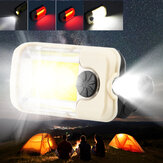 Rechargeable COB LED Work Light Portable Magnetic Hook Clip Waterproof Glare Flashlight for Camping