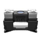 lingchen 304 150W 120PSI Digital Display Car Tire Inflator Dual-cylinder High-power Portable Air Pump Compressor