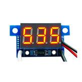 3 stücke Rotlicht Mini 0,36 Zoll DC Strommesser DC0-999mA 4-30 V Digitalanzeige Mit Verpolungsschutz Amperemeter