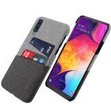 Bakeey Fabric Card Держатель Противоударный Защитный Чехол Для Samsung Galaxy A50 2019