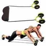 Resistencia de rueda abdominal multifuncional Tire Cuerda Intensidad ajustable de músculo Aptitud Equipo