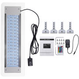 9.5W 48 LED RGB fjernbetjening Aquarium Light Lamp Passer til 40-56cm Fish Tank