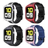 Bakeey 2 en 1 Sport Casual Protector a prueba de golpes Caso con TPU Reloj Banda Reemplazo de correa para Apple Watch Series 42 / 44mm
