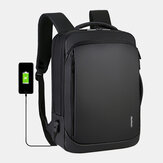 Men Large Capacity Multifunctional Loptop Backpack With USB Charging Port