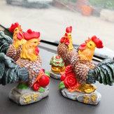 Nowe półki Na Caishun Pomyślny Ozdoby Z Kurczaka Żywicy Kreatywne Dekoracje Rzemiosła Prezent