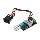 DC 6V/12V/24V/28V 3A 80W PWM Motor Speed Controller Regulator Adjustable Reversible Motor Driver Switch Module