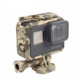 Cool Camouflage Frame Protective Housing Case Shell for Gopro Hero 5 Sport Camera